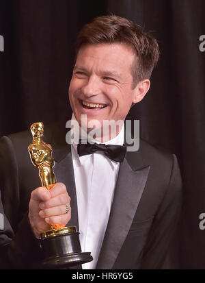 Hollywood, CA. 26 Feb, 2017. Jason Bateman, an der 89. jährlichen Academy Awards Presse im Hollywood & Highland - Stockfoto