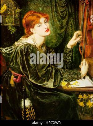 Dante Gabriel Rossetti Veronica Veronese - Stockfoto