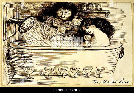 Dante Gabriel Rossetti - des M am Ems - Stockfoto