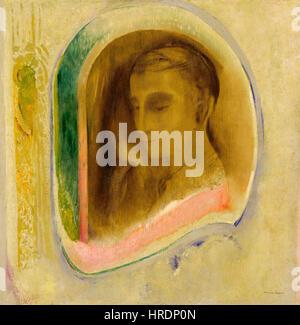 Odilon Redon - Stille - 63.74 - Minneapolis Institute of Arts - Stockfoto