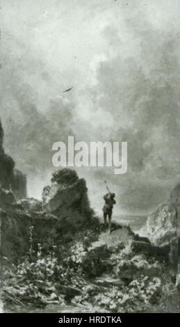 Carl Spitzweg 1808-1885-Strelec - Stockfoto