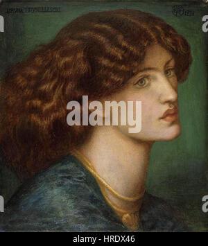 Dante Gabriel Rossetti - Bruna Brunelleschi - Stockfoto
