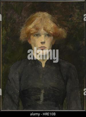 Carmen-Henri de Toulouse-Lautrec - Stockfoto