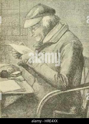 Gabriele Rossetti von Dante Gabriel Rossetti - Stockfoto