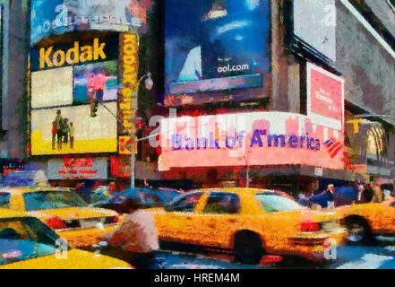 Times Square in New York - Stockfoto