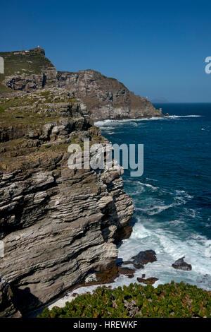 Cape Point und Atlantikküste, Cape Town, Südafrika - Stockfoto