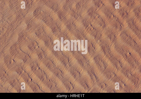 Sanddünen in der Ténéré-Wüste, Niger - Stockfoto