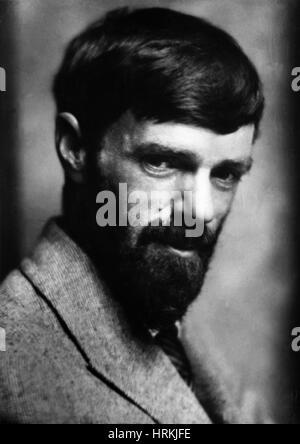 D. H. Lawrence, englischer Schriftsteller - Stockfoto