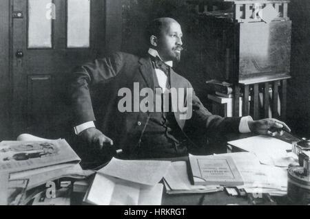 Bürgerrechtler W.E.B Du Bois - Stockfoto