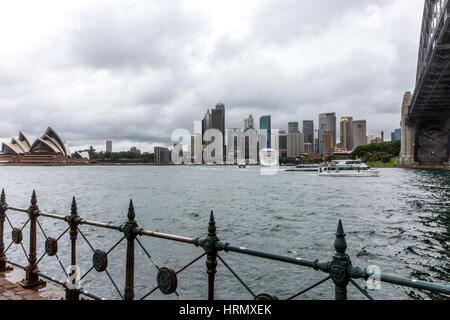 Sydney, Australien. 3. März 2017. Eine Woche nach starken Regenfällen und Gewittern in Sydney und Teile von New - Stockfoto