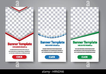 Abstrakte Grafik, Design-Web-Banner; Header-Layout-Vorlage; Reihe ...