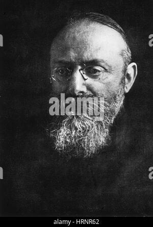 Albert Neisser, deutscher Arzt und Mikrobiologe - Stockfoto