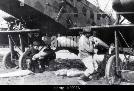 WWI, deutsche Gotha G.V schwere Bomber - Stockfoto