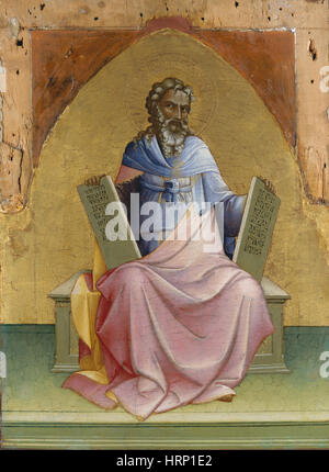 Moses von Lorenzo Monaco - Stockfoto
