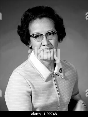 Katherine Johnson, NASA Forschung Mathematiker - Stockfoto