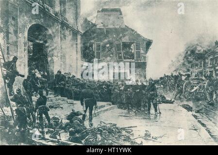 Le Bourget, 1870 (1884). Künstler: unbekannt Stockfoto