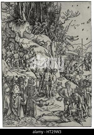 Das Martyrium der zehntausend, 1497. Künstler: Dürer, Albrecht (1471-1528) - Stockfoto