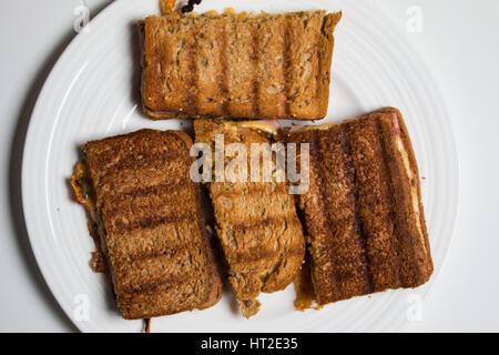 verbranntes Brot