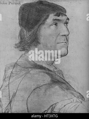 'John Poyntz', c1532-1543 (1945). Künstler: Hans Holbein der jüngere. - Stockfoto