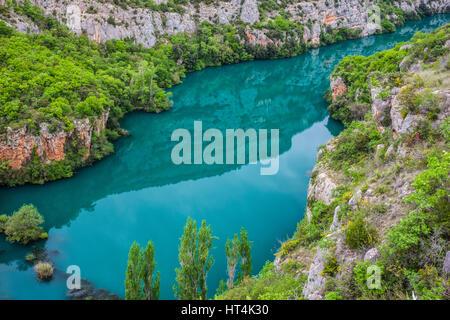 Green River Krka in Nationalpark Krka in Kroatien - Stockfoto
