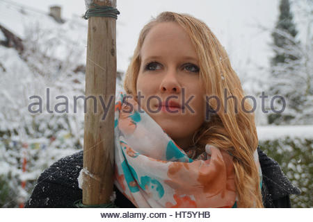 Winter-depression - Stockfoto
