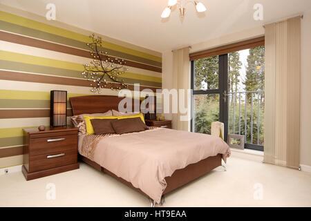 Eigenschaftswand, Wohngebäude, Schlafzimmer, Zimmer Mit Aussicht, Balkon  Der Julia, Dekor,