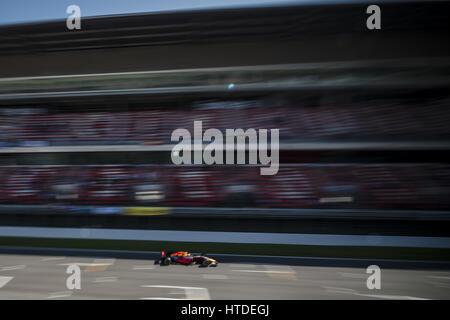 Barcelona, Katalonien, Spanien. 10. März 2017. MAX VERSTAPPEN (NED) des Teams Red Bull fährt planmäßig tagsüber 8 der Formel1 Prüfung am Circuit de Catalunya Credit: Matthias Oesterle/ZUMA Draht/Alamy Live News