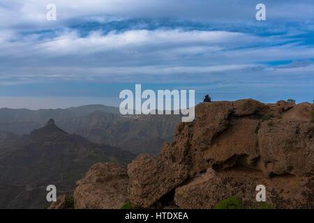 Gran Canaria, Roque Nublo - Stockfoto
