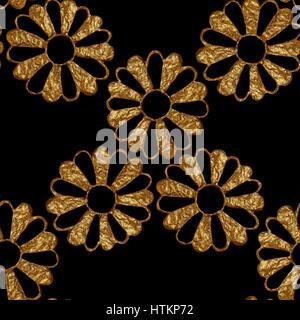 elegante nahtlose blumenmuster schwarz wei tapete blume textur vektor abbildung bild. Black Bedroom Furniture Sets. Home Design Ideas