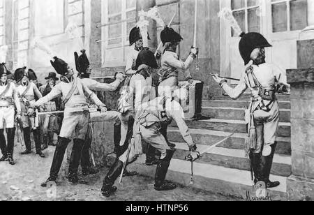 Myrbach-preußischen Garde du Corps - Stockfoto