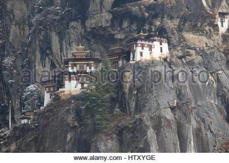 Taktsang Kloster (Tiger es Nest) in Paro, Bhutan