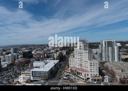 Die Innenstadt von San Diego - Stockfoto