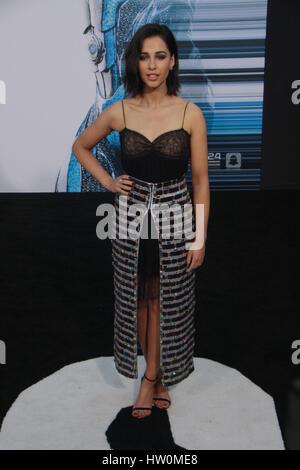 """Los Angeles, USA. 22. März 2017. Naomi Scott 22.03.2017 """"Power Rangers"""" Premiere bei Westwood Village Theater in - Stockfoto"""