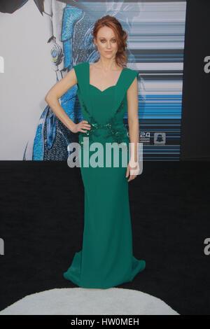 "Los Angeles, USA. 22. März 2017. Fiona Vroom 22.03.2017 ""Power Rangers"" Premiere statt im Westwood Village Theater - Stockfoto"