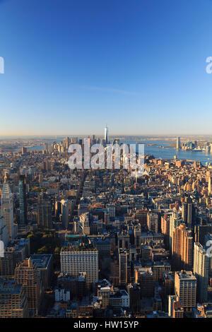 USA, New York, New York City, Manhattan, Empire State Building Observatory - Stockfoto