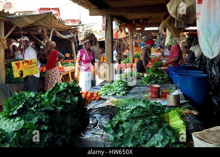 Harare, Simbabwe Mbare Markt - Stockfoto