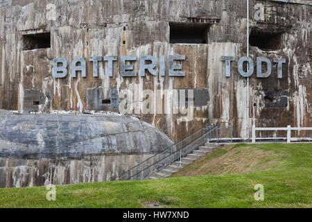 Batterie Todt, Musee du Mur de Atlantique, Cap Gris-Nez, Côte Opale ...
