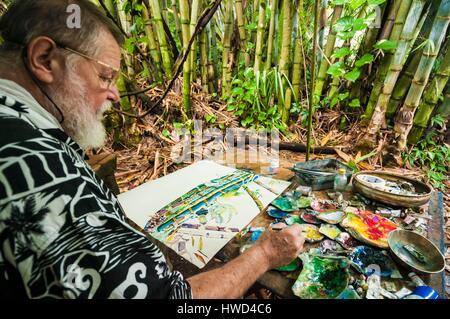 seychellen mahe island anse aux pins creole craft village modell schiff studio stockfoto. Black Bedroom Furniture Sets. Home Design Ideas
