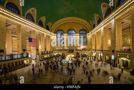 Innenraum des Grand Central Terminal - New York, USA - Stockfoto
