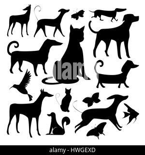 Weißer Hintergrund, Schwarze und Weiße, schwarz, Hintergrund, Kunst, Kunstwerk, Cartoon, cgi, Clip Art, Computer - Stockfoto