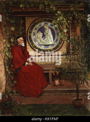 George Frederic Watts von George Andrews - Stockfoto