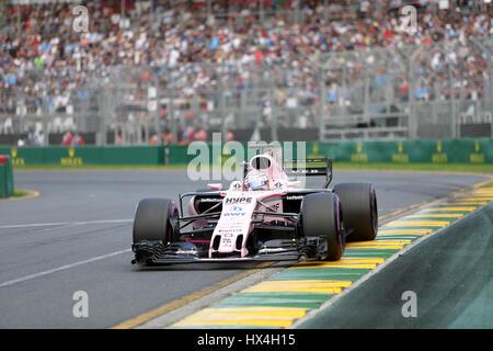 Melbourne, Australien. 25. März 2017. Albert Park, Melbourne, Rolex australischen Grand Prix Formel 1, 23. -26.03.2017 - Stockfoto