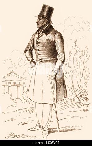 1795-1861, König von Preußen Friedrich Wilhelm IV - Stockfoto