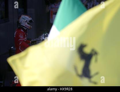 Melbourne, Australien. 26. März 2017.  Formel 1 Rolex Australian Grand Prix, 23. -26.03.2017 Sieger des Ersten Rennens - Stockfoto