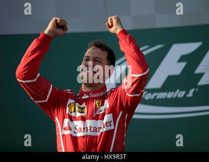 Melbourne, Australien. 26. März 2017.  Formel 1 Rolex Australian Grand Prix, 23. -Kredit-26.03.2017: Cronos/Alamy - Stockfoto