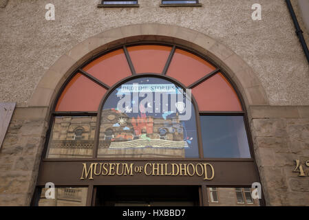 Museum of Childhood Sammlung von Kinder Spielzeug Edinburgh EH1 1TG - Stockfoto
