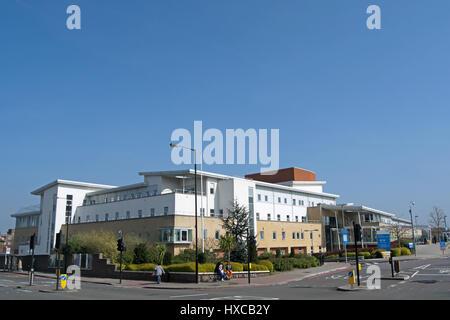 Außenseite des Queen Mary Hospital, Roehampton, Südwesten von London, england - Stockfoto