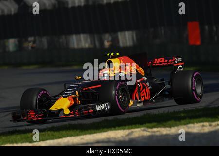 Albert Park, Melbourne, Australien. 26. März 2017. Max Verstappen (NDL) #33 aus dem Red Bull Racing Team bei der - Stockfoto
