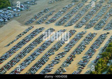 Extreme automobile Lagerung - Stockfoto