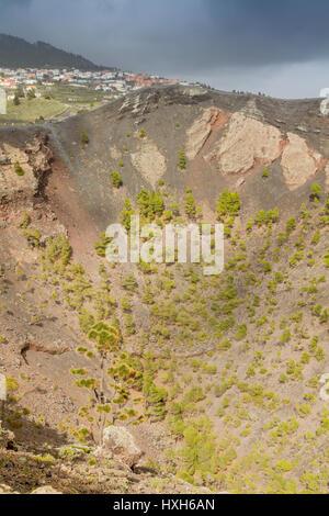 San Antonio Volcano, Fuencaliente, La Palma, Kanarische Inseln - Stockfoto